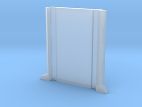 SciFi Pillar and Walls - Basic Pillar in Smooth Fine Detail Plastic