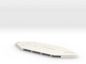 1/700 L-III Battleship Shelter Deck in White Strong & Flexible