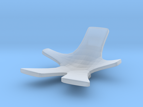 Chair No. 8 in Smooth Fine Detail Plastic