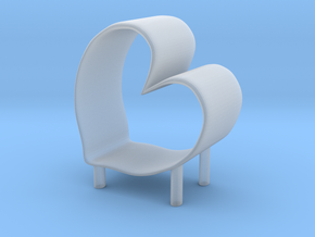 Chair No. 48 in Smooth Fine Detail Plastic