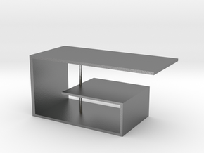 Table No. 9 in Natural Silver