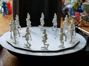 Zoetrope Walk Sequence in White Strong & Flexible
