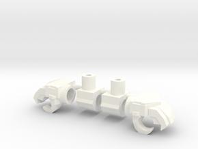 Classics Truck Leader Hands in White Processed Versatile Plastic
