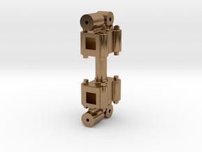 No. 23 - Valve Rod Head REV Set .625 Plus 1% in Natural Brass