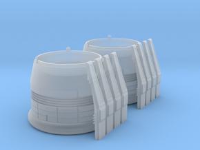 ENTERPRISE NX01 SET NACELLE CAP in Smooth Fine Detail Plastic
