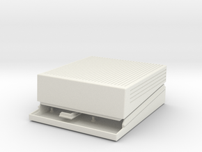 Apple IIgs Raspberry Pi case in White Strong & Flexible