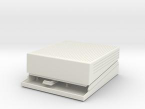 Apple IIgs Raspberry Pi case in White Natural Versatile Plastic