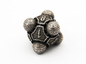 Nucleus D8 in Polished Bronzed Silver Steel