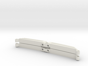leaf spring 23L 2 piece set in White Natural Versatile Plastic