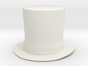 Lincoln 1.5 in White Natural Versatile Plastic