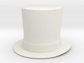 Lincoln 1.5 in White Natural Versatile Plastic