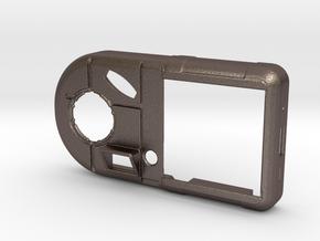 Vortex Manipulator Smart-watch in Polished Bronzed Silver Steel