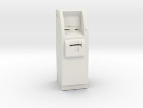 SlimCash 200 ATM, Dollhouse 1:24 Scale in White Natural Versatile Plastic