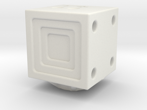 101 -ZEN in White Natural Versatile Plastic