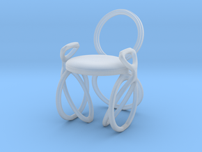 Chair No. 40 in Smooth Fine Detail Plastic