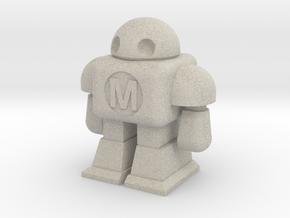 MAKE Robot in Natural Sandstone
