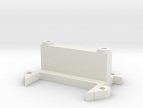 DMR MPC 02 A-Arm Bulkhead in White Natural Versatile Plastic