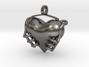 Heart Engine in Polished Nickel Steel