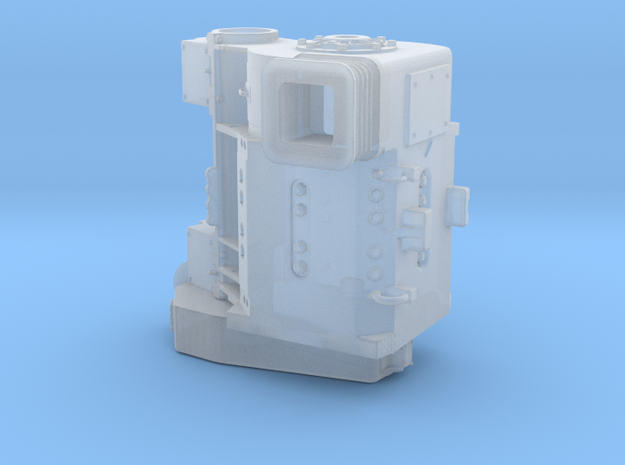 TRACTION MOTOR 1/48 SCALE in Smoothest Fine Detail Plastic