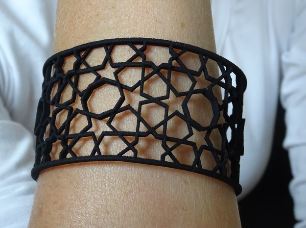 Bracelet Tivoli Byzanth in Black Natural Versatile Plastic