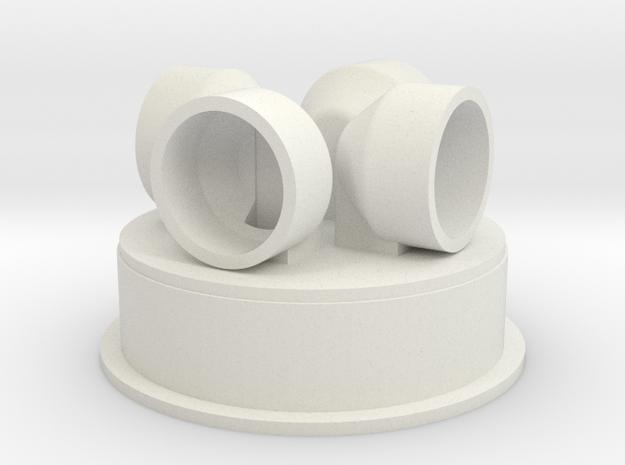 Prime Strato Light (shallow base) in White Natural Versatile Plastic