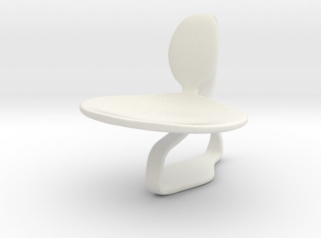 Chair No. 46 in White Strong & Flexible