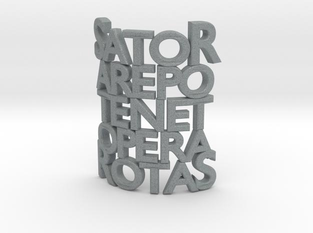 Sator Arepo Tenet Opera Rotas 3d printed