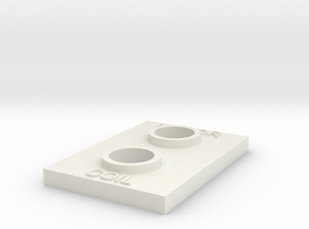 Motor Coil Greeblie V2 in White Natural Versatile Plastic