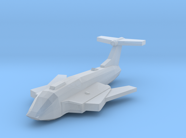 [Galaxia] Le Vainqueur (Wings Swept) in Smooth Fine Detail Plastic