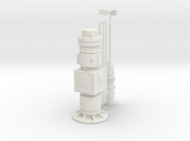 Moisture evaporator 1:32 in White Natural Versatile Plastic