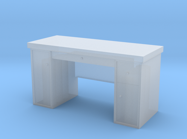 HO Scale Desk  in Frosted Extreme Detail