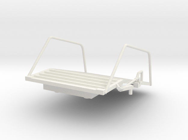07-Egress Platform in White Natural Versatile Plastic