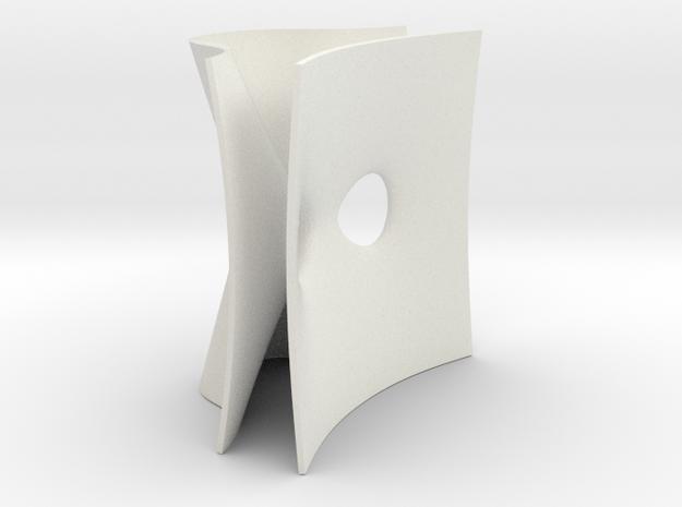 D5 ALF gravitational instanton in White Natural Versatile Plastic
