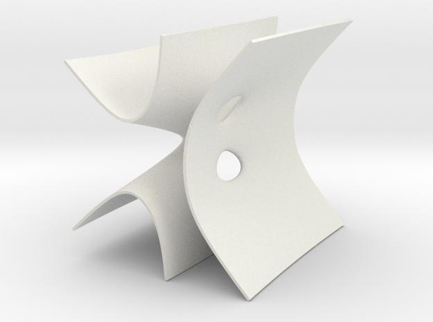 D4 ALF gravitation instanton in White Natural Versatile Plastic