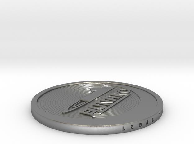 1 Lunaro coin 2015. in Natural Silver