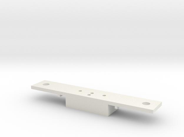 Lionel O scale EMD F3/F7 Coupler Mount (Part A) in White Natural Versatile Plastic