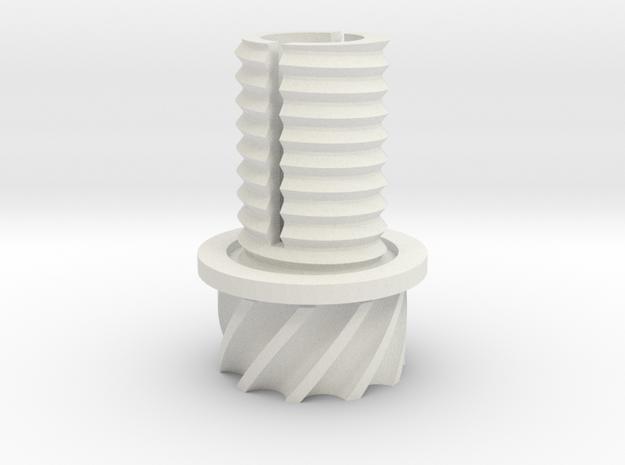 GearVtulka in White Natural Versatile Plastic