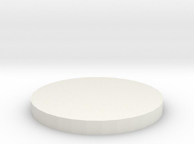 Medium Creature Marker in White Natural Versatile Plastic