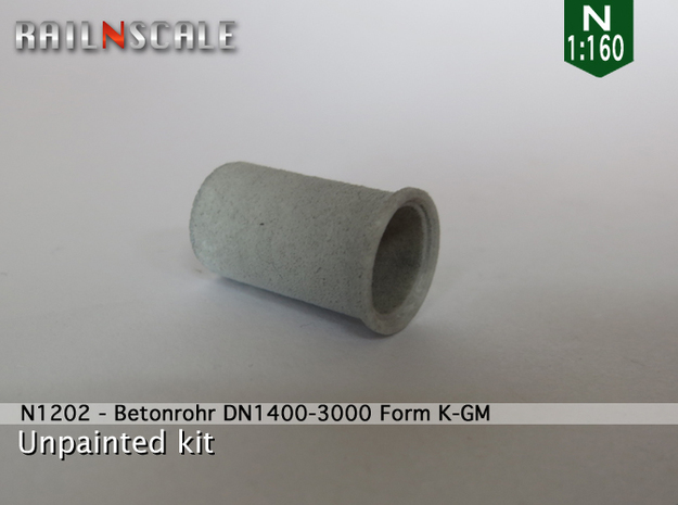 Betonrohr DN1400-3000 in White Natural Versatile Plastic