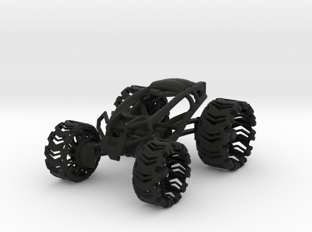 Leafspring Buggy V2 SLS in Black Natural Versatile Plastic