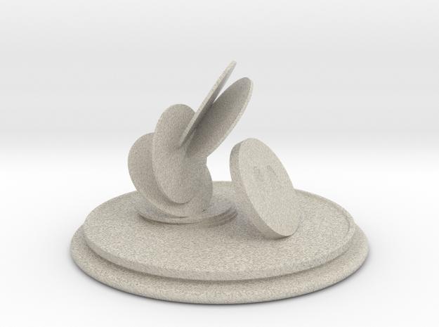 Pog Trophy in Natural Sandstone