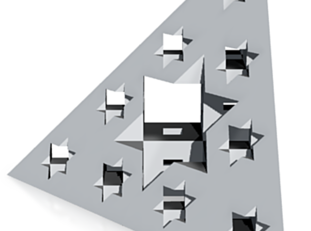 Triangle de Menger (mini) 3d printed
