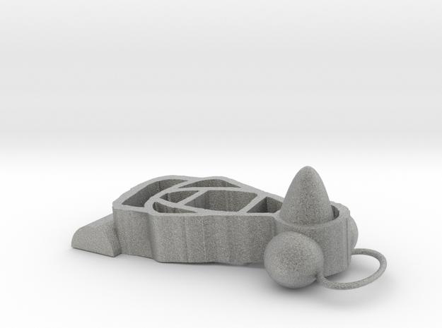 penguin 3d shapes try it now in Metallic Plastic