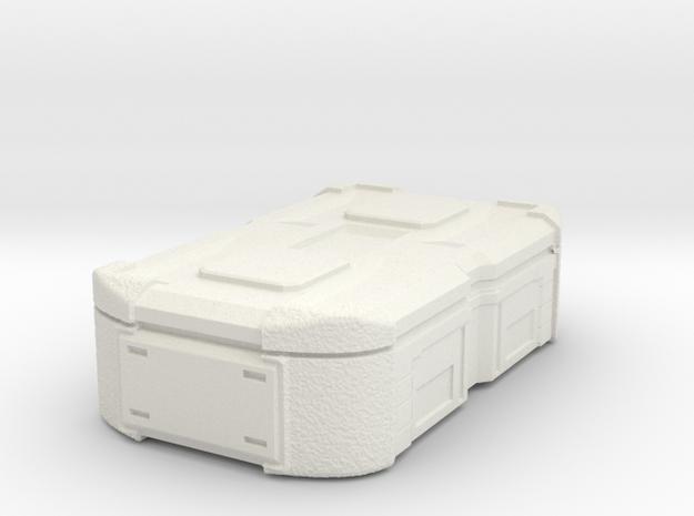 1:20 Cargobox1 in White Natural Versatile Plastic