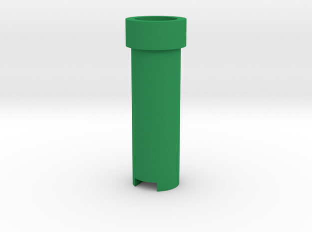 Mario Coin Pipe (1€) in Green Processed Versatile Plastic