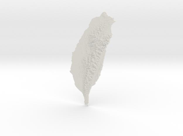 Taiwan, 45cm - Navigator Series in White Natural Versatile Plastic