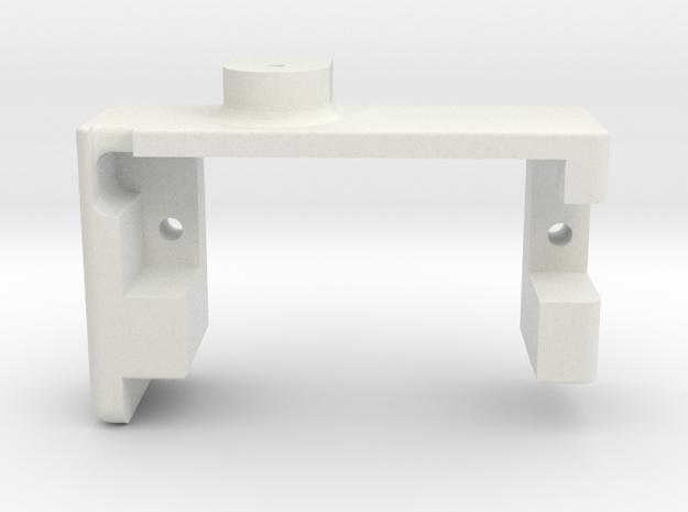 Servo Mechanism 3.0 Case in White Natural Versatile Plastic