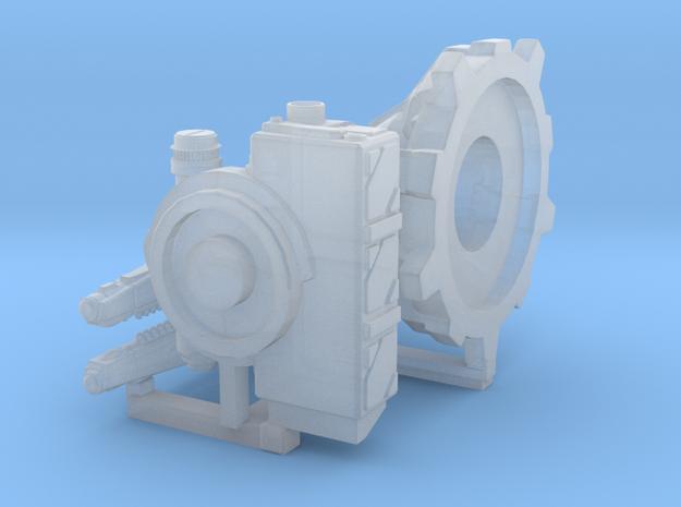 Railgun Platform in Smooth Fine Detail Plastic