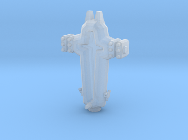 SP104 Stone Portal Missile Frigate 3d printed