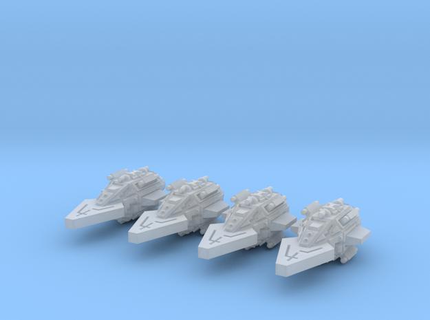 VA105A Fierce Thrust Frigate (x4) 3d printed